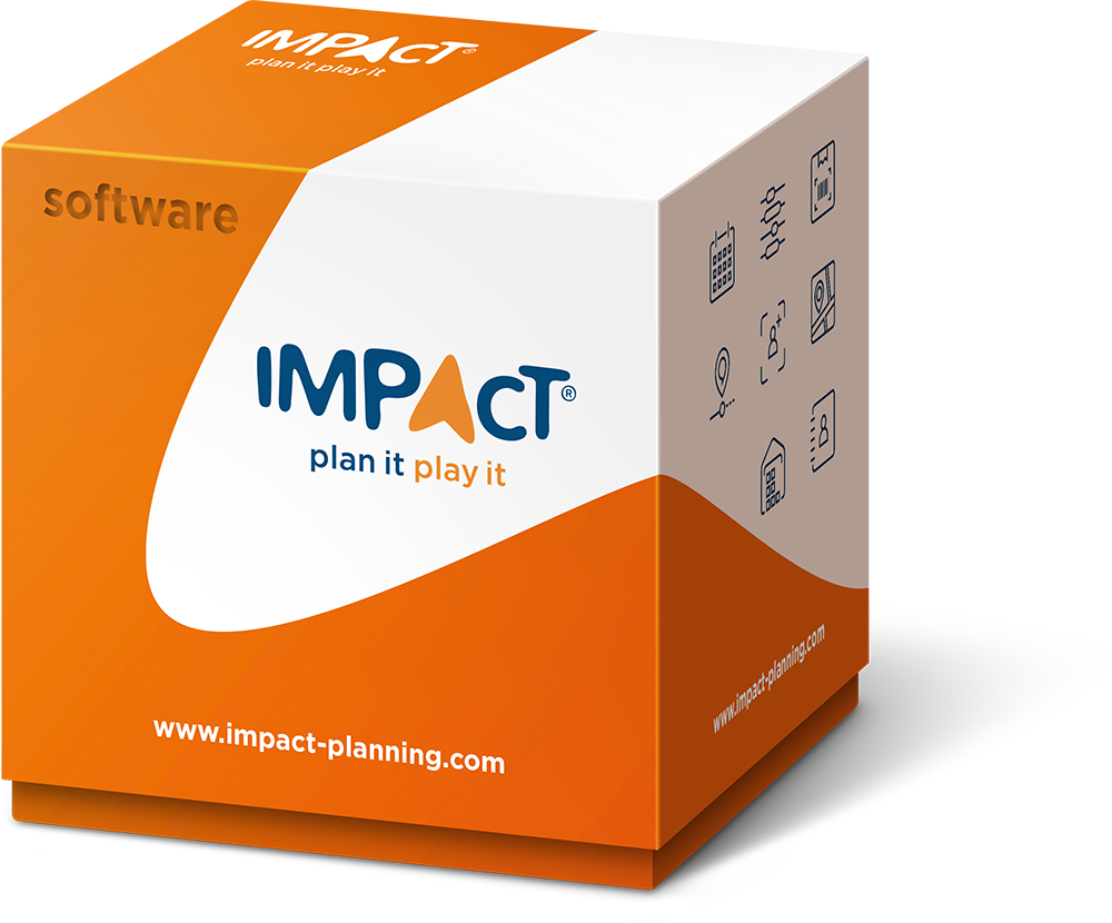 IMPACT software box